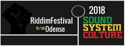 2018 ODENSE RIDDIMFESTIVAL ARTWORK